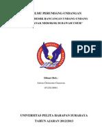 Naskah Akademik Rancangan Undang