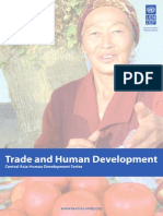 Central Asia Trade and Human Development