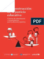 L Educacion Construccion de La Justicia Educativa 2011