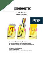 Endodontic Clinic Manual 2015_1