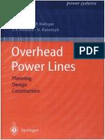 Design pdf power construction planning lines overhead