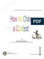 How to Chair Contest