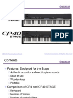Yamaha Cp4 40stage 2014jan