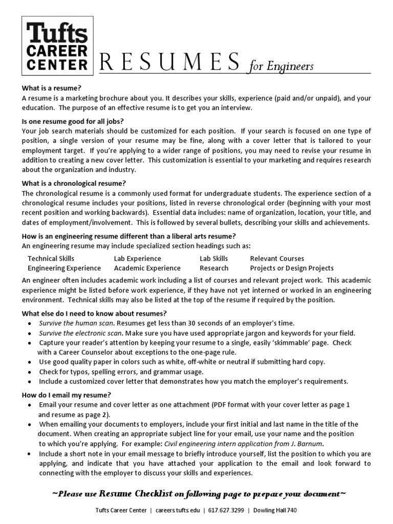 Engineering Resumes | Résumé | Engineer
