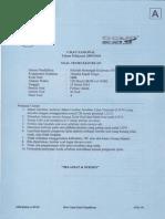 UN Teori Kejuruan Teknika 2010 Paket A