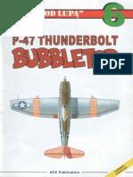 "(Seria ""Pod Lupą"" No.6) P-47 Thunderbolt Bubbletop"