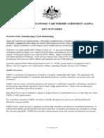 Japan-Australia Economic Partnership Agreement - key points