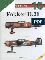 """(Seria """"Pod Lupą"""" No.10) Fokker D.21"""