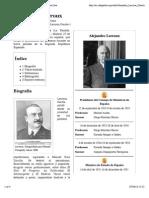 Alejandro Lerroux - Wikipedia, La Enciclopedia Libre
