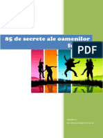 85 de Secrete Ale Oamenilor Fericiti