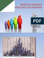 131666450 Aspecte Genetice in Deficientele de Crestere 1