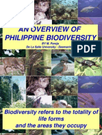 AN OVERVIEW OF PHILIPPINE BIODIVERSITY