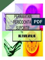 Pe 252 Slide Perawatan Periodontal Suportif