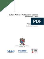 livro_Cultura Política y Participación Electoral