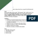 document essay tttc