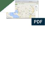 Mapa Recorrido Del Metro en Genova...