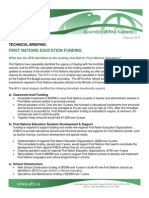2014 AFN Education Funding Technical Briefing_FINAL FORMATTED