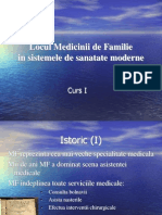 Locul MF in Sistemele de Sanatate Moderne