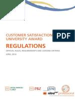 University Award Regulation Rules