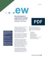Key Principles Organization Design