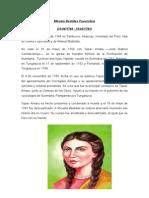 Biografia - Micaela Bastidas Puyucahua