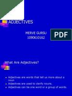 162 Merve Gursu Adjectives