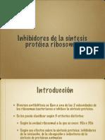 Inhibidores Sintesis Prot