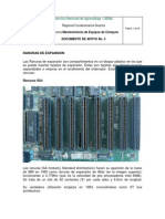 Documento de Apoyo No. 3 Conectores, Ranuras de Expansion y Sockets