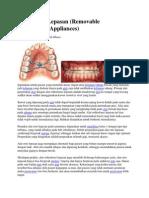 Orthodonti Lepasan
