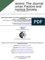 Human Factors- The Journal of the Human Factors and Ergonomics Society-2006-Horrey-196-205