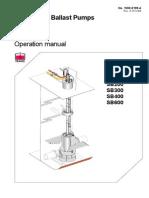 Framo Ballast Operation Manual