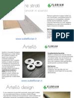 Pavimenti in legno italiani a tre strati controbilanciati in essenza | Outlet Florian