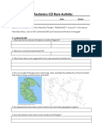 theory of plate tectonics cd rom activity