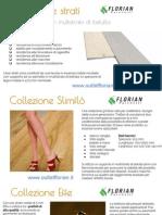 Pavimenti in legno prefiniti a due strati | Outlet Florian