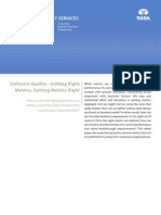 White paper on Software Quality