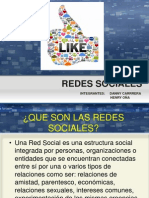 REDES SOCIALES DANNY CARRERA HENRY OÑA