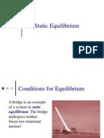 Lecture Note Statics Equilibrium