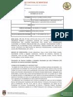 INFORME COORDINACIÓN GENERAL AUCM DE ENERO A MARZO DE 2014