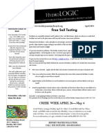 The Beckley Sanitary Board April Hydrologic Newsletter