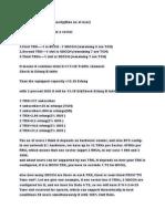 Explanation of 2G Capacity