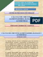 CÁLCULO DE CIRCUITOS.
