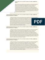 Actividades diagnostico alumnos del 4to año de la secundaria básica (literatura)