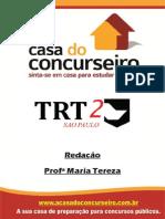 Apostila TRT SP Redacao Maria Tereza