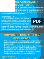 SOPORTES CONTABLES