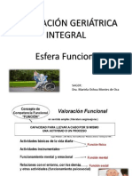Valoracion Geriatrica Funcional