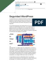 Seguridad WordPress - TargetIMC