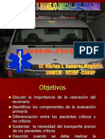 Manejo Inicial Del Trauma_Dr Ramirez