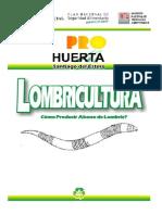 Pro-Huerta (INTA) Lombricultura