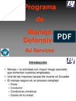 Manejo Defensivo Bj