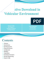 Vehicular Environment